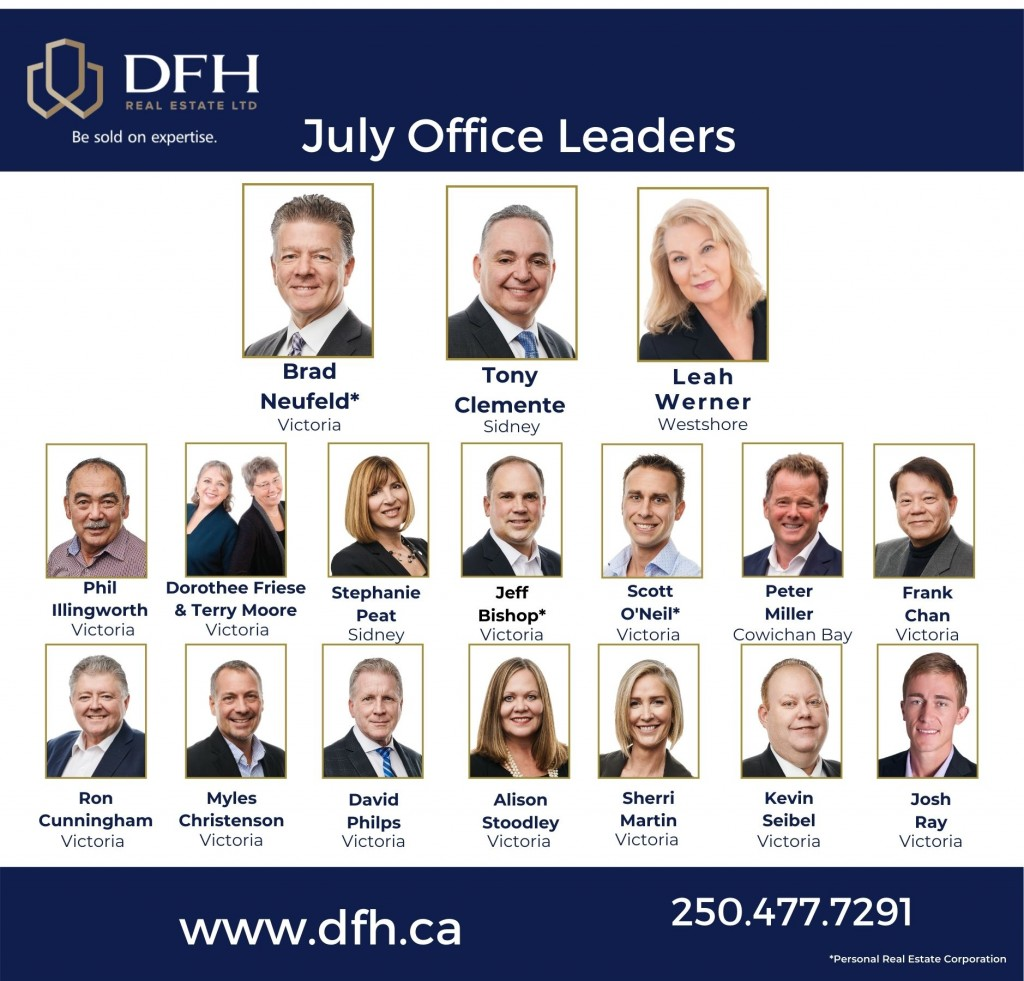 dfh real estate office leaders july 2020