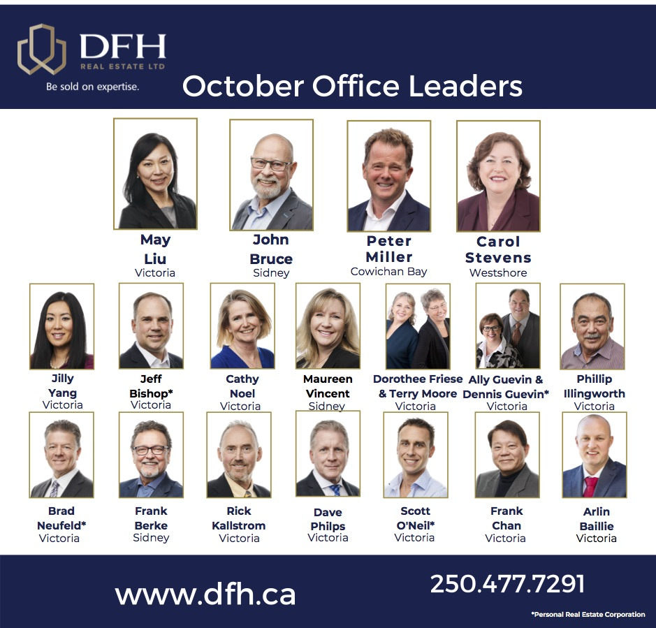 dfh real estate leading agents october 2020